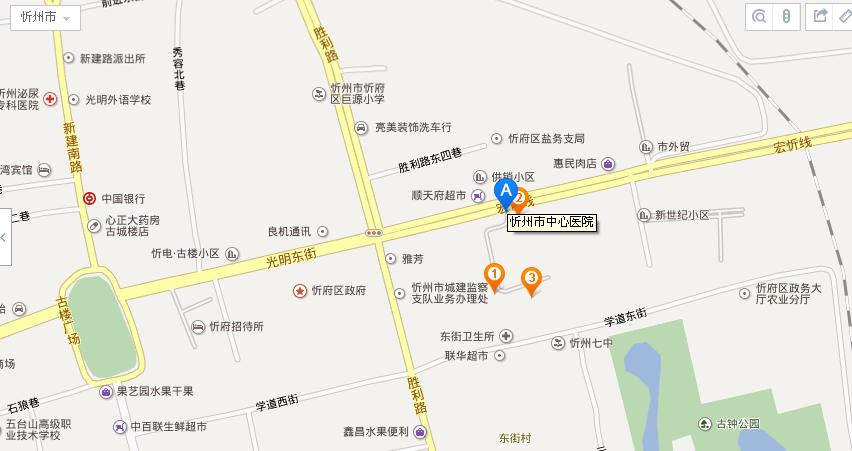 医院位置_医院地理位置