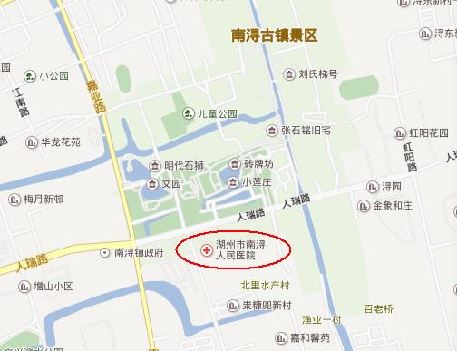 上海南浔镇地图