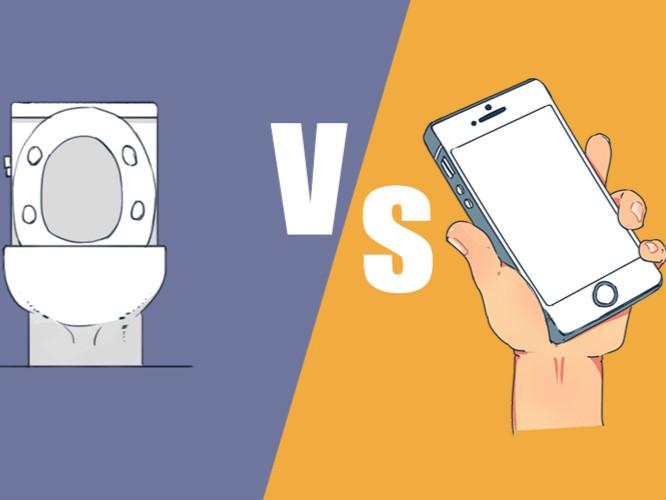 手机和马桶,现在你必须要舔一个,你会选择哪个?